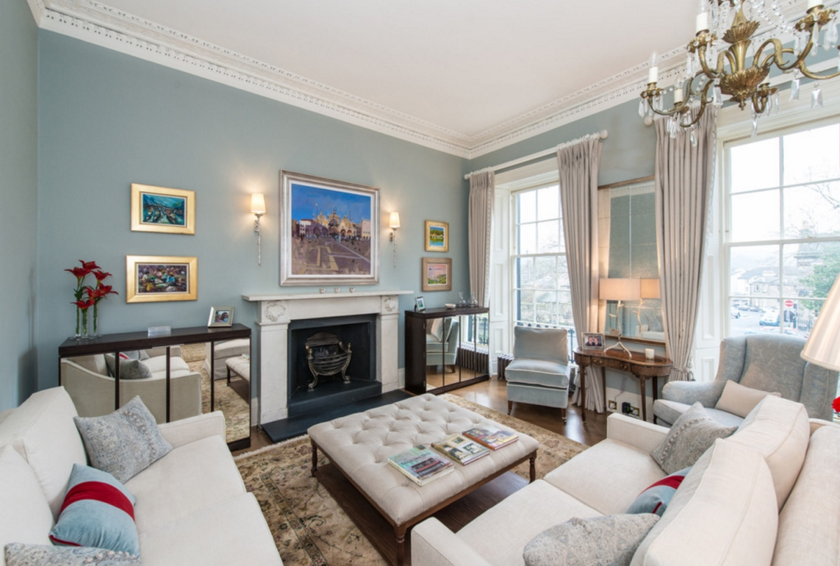 Drawing room by Lally Walford Interiors