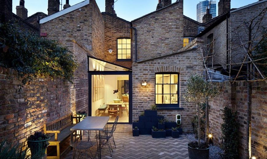 Respect for the Past: Smart Makeover Revitalizes Heritage Home in London