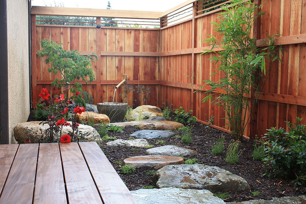 ... Elegant And Small Asian Style Garden And Courtyard Design [Design: Bio  Friendly Gardens]