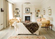 Elegant drawing room by London Basement
