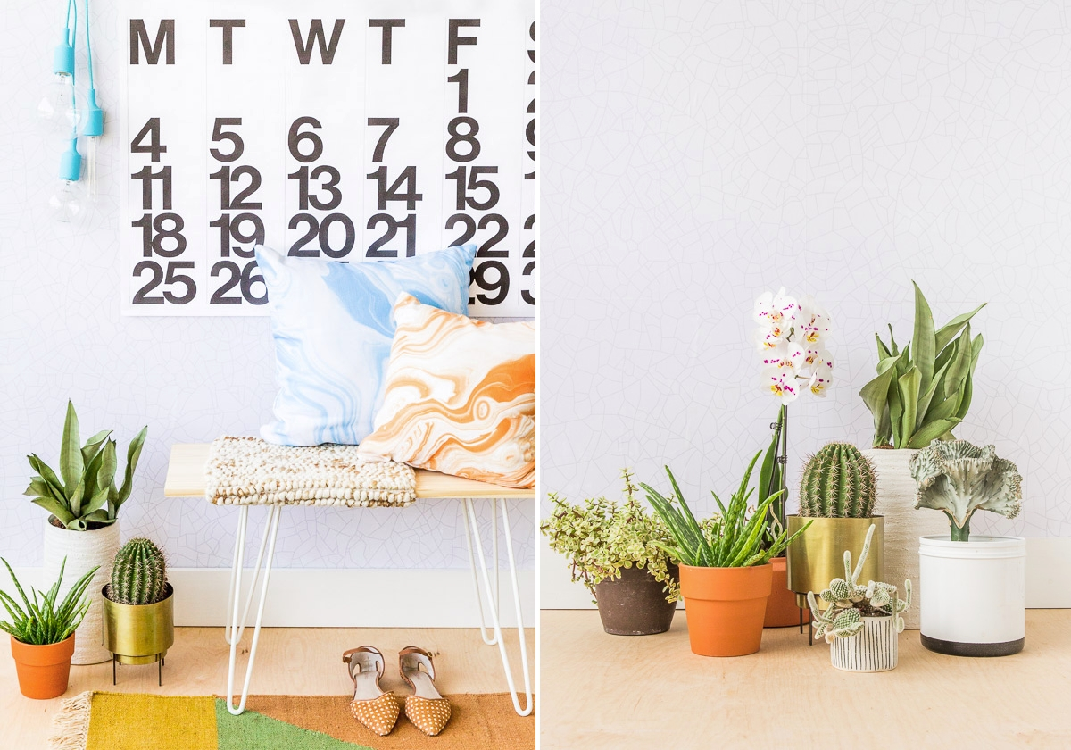 Entryway refresher ideas from Paper & Stitch