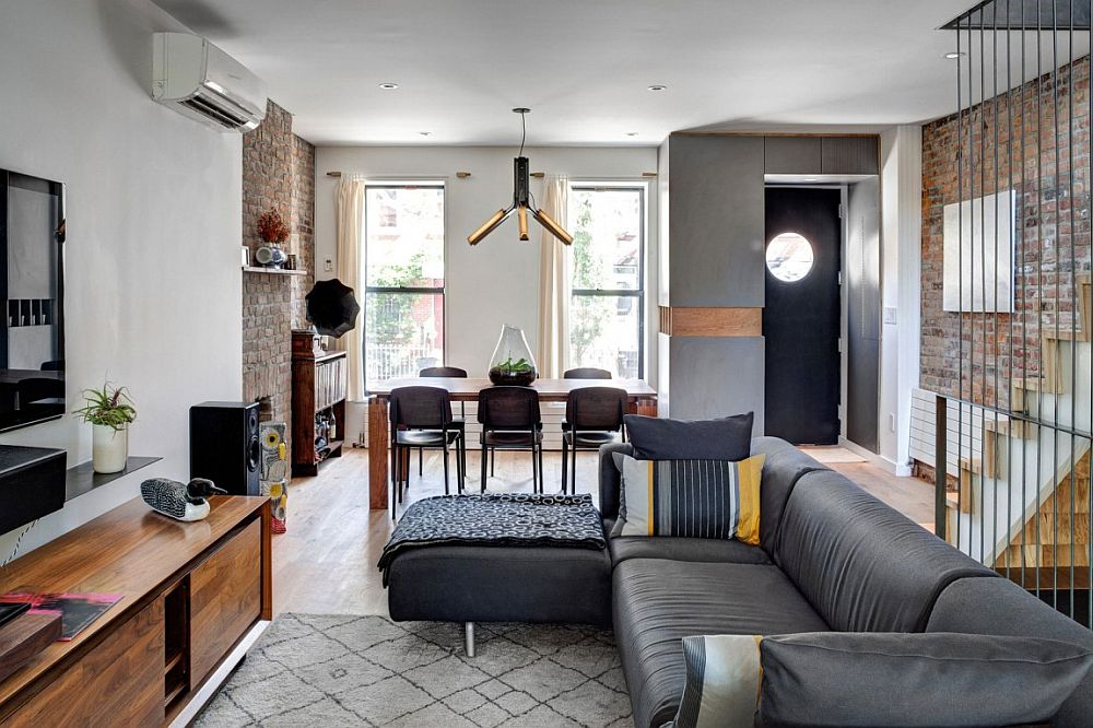 S Brooklyn Home With Brick Walls Gets A Modern Renovation