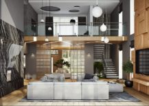 Exquisite loft style interior of the Moscow home 217x155 A Treat for the Senses: Ultra Modern Moscow Home Visualized by Buro 108