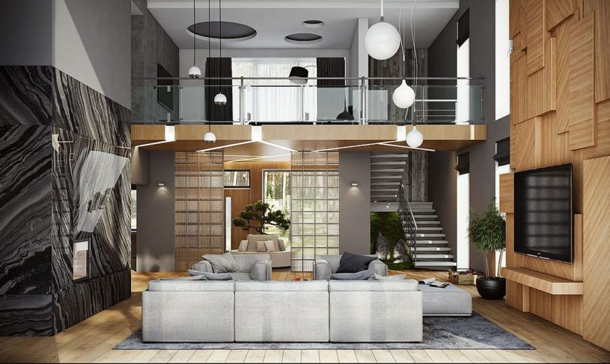 A Treat for the Senses: Ultra-Modern Moscow Home Visualized by Buro 108