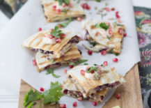 Fall quesadillas from Camille Styles