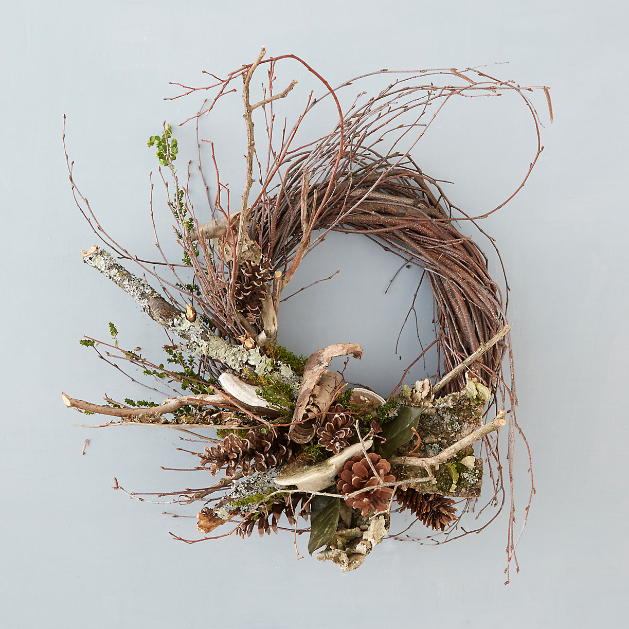 Fall wreath from Terrain