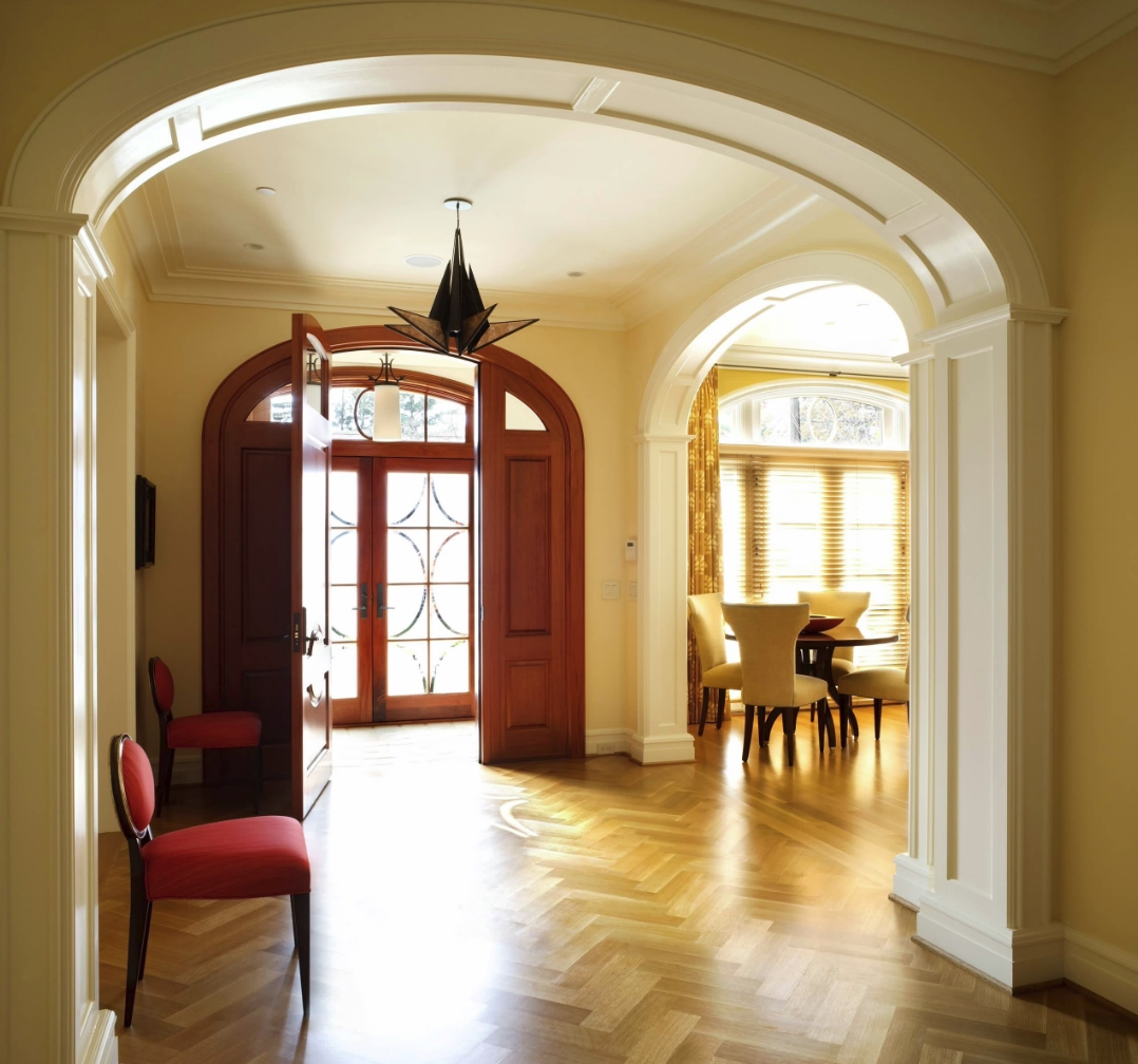 What is a foyer for Interior arch designs photos