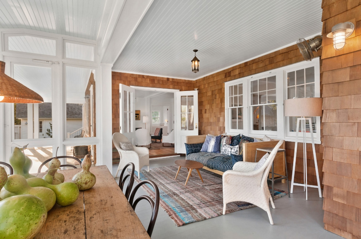 Front porch from Thomas H. Heine Architect PC