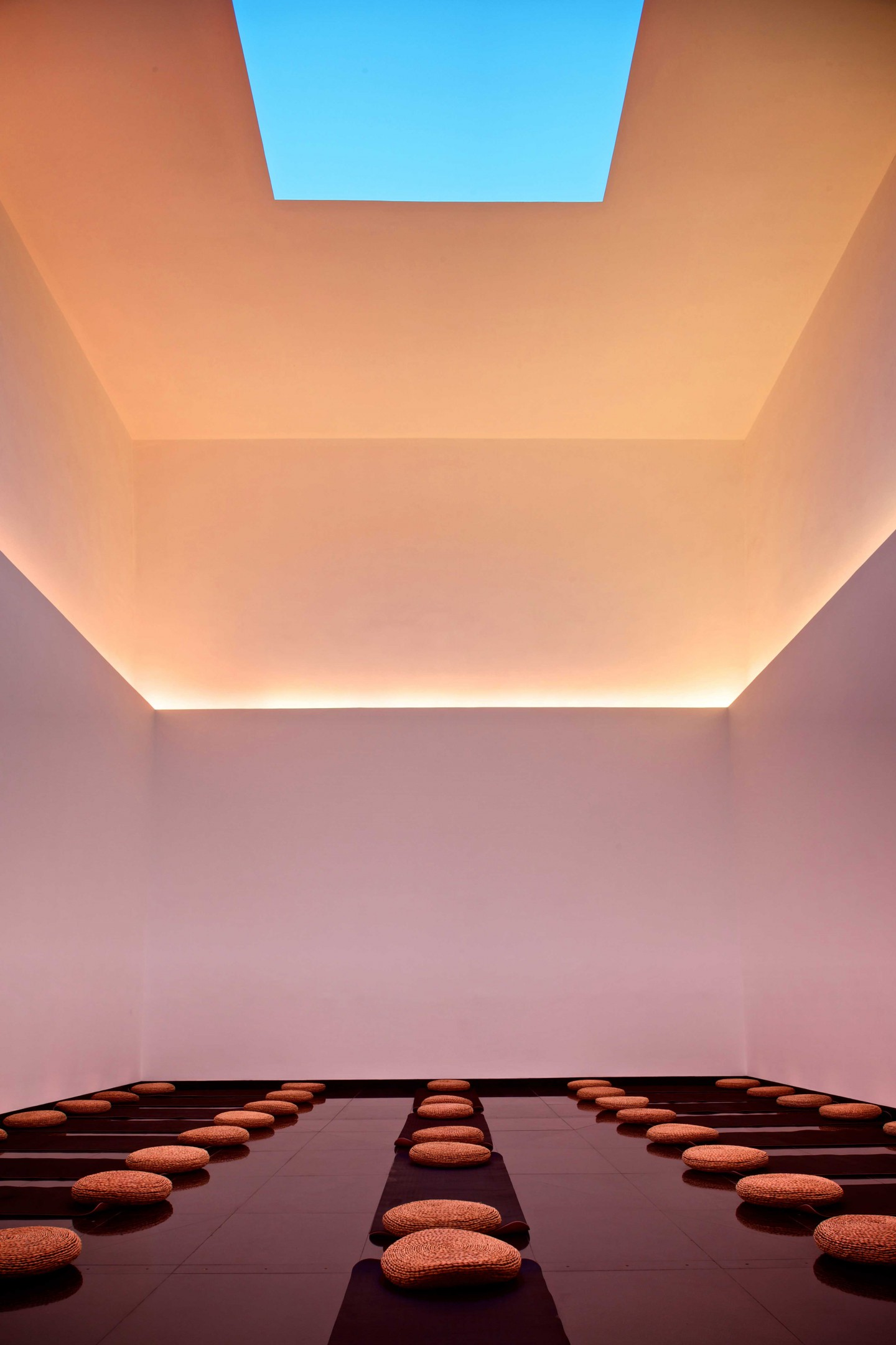 Gathered Sky by James Turrell (photo by Ben McMillan)
