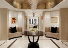 Glamorous foyer by Cindy Ray Interiors