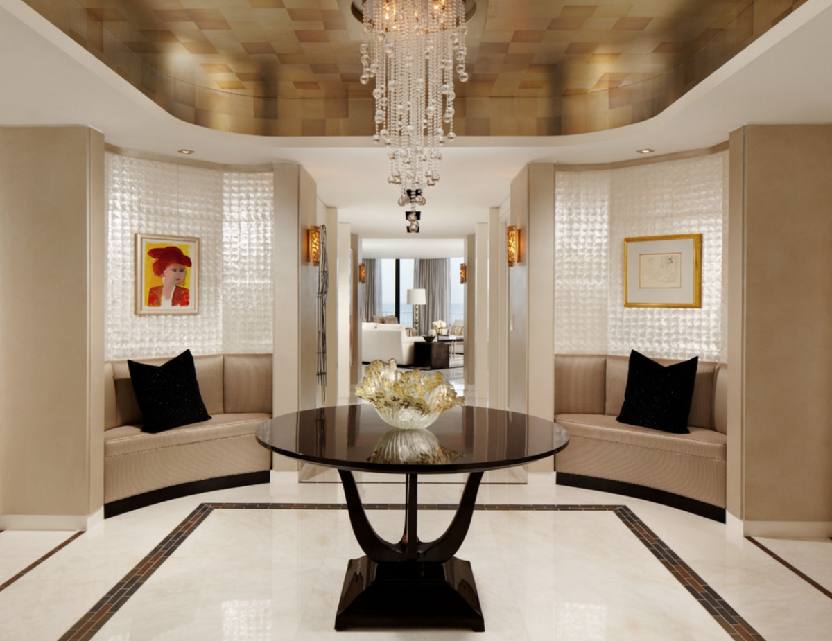 Attractive View In Gallery Glamorous Foyer By Cindy Ray Interiors