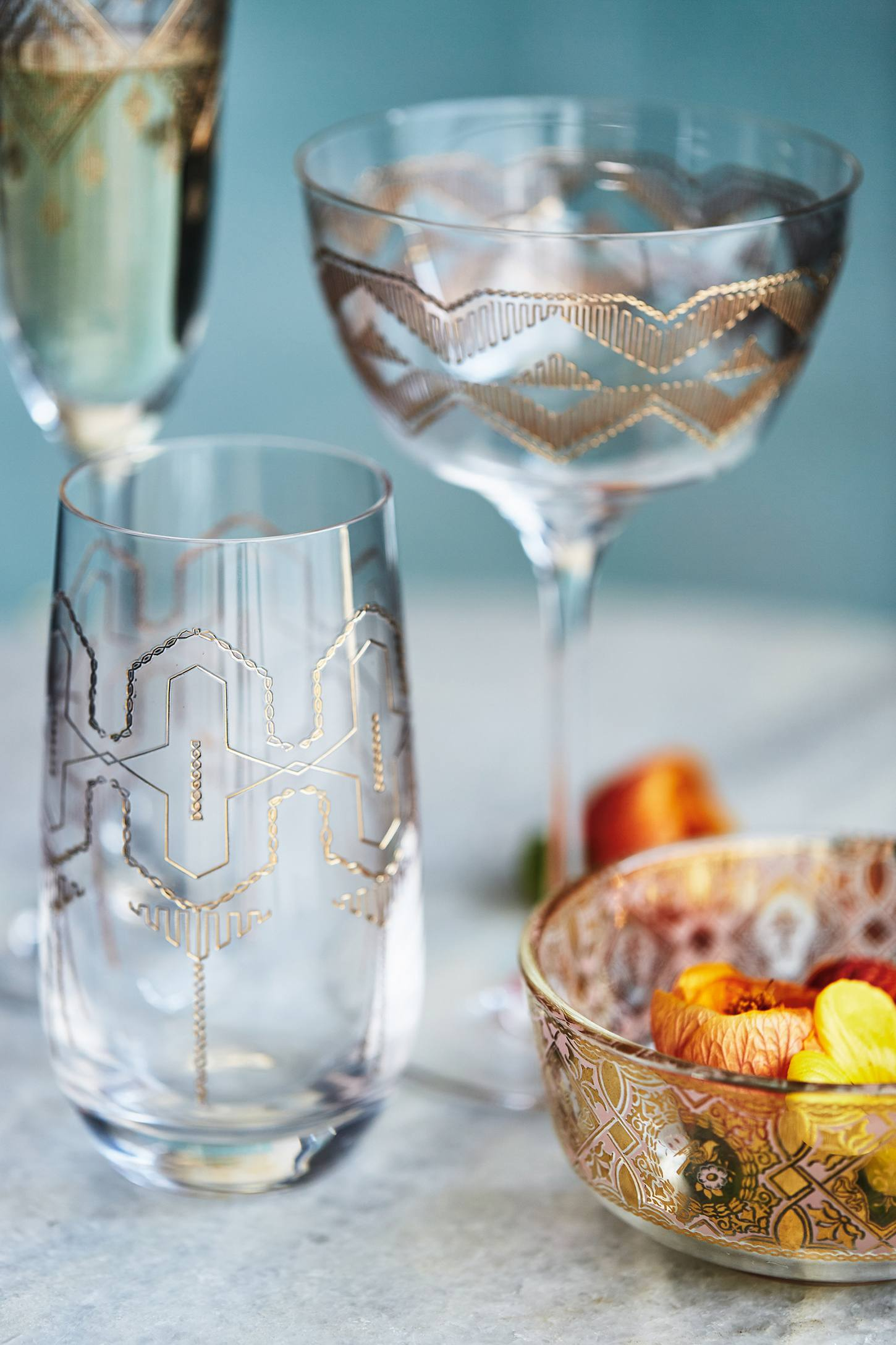 Glassware from Anthropologie