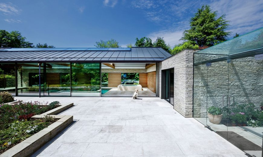 From Fun Parties to Rejuvenating Solitude: Awesome Pool House Does It All!