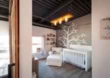 Industrial-nursery-of-vintage-loft-in-Vancouver-with-dark-ceiling-217x155