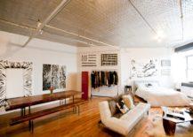 Industrial studio apartment (photo credit: Chris A. Dorsey)