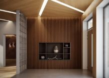 Ingenious interior combines warmth of wood with modern refinement