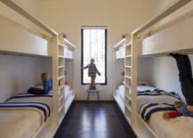 Kids' bunk bedroom idea