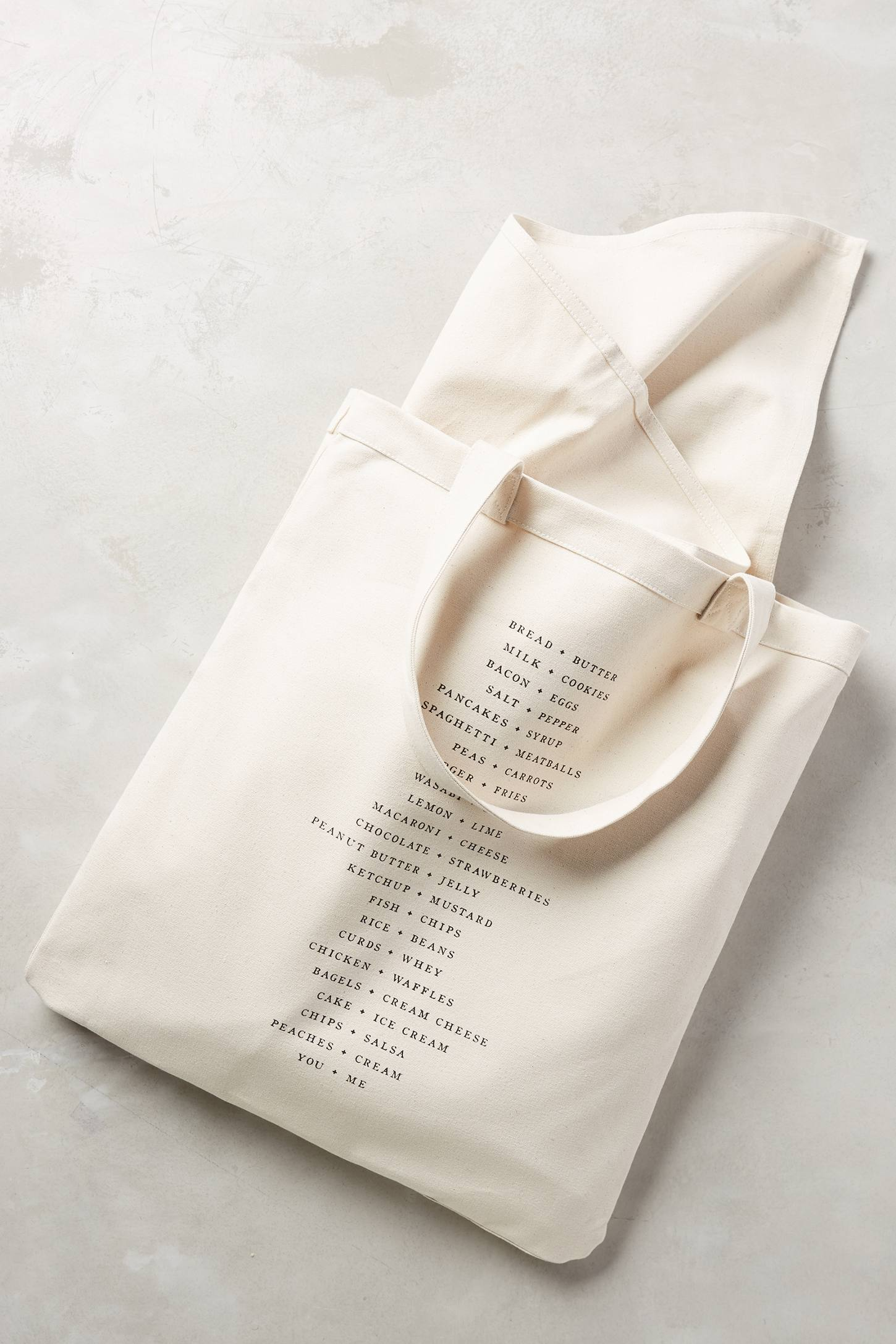 Linen picnic tote and blanket