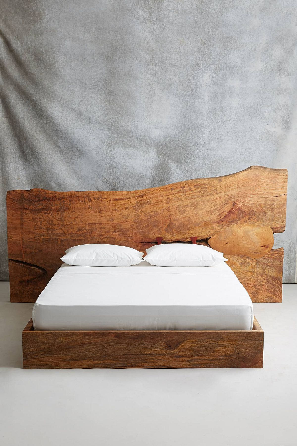 Live edge queen bed from Anthropologie
