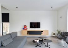 Minimal-living-area-with-gray-couch-and-entertainment-unit-217x155