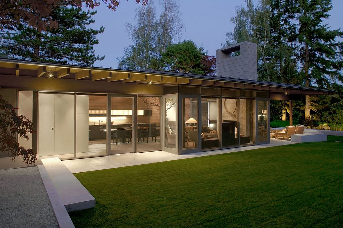 Modern Seattle home inspired by picnic shelter in the forest