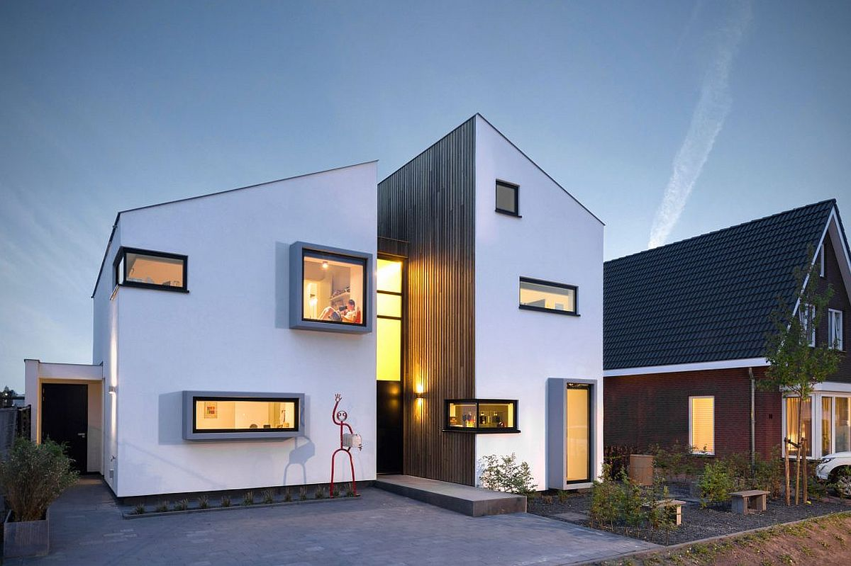 Modern and traditional dutch design combined efficiently