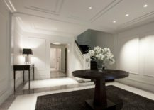 Modern-meets-classic foyer from dSPACE Studio