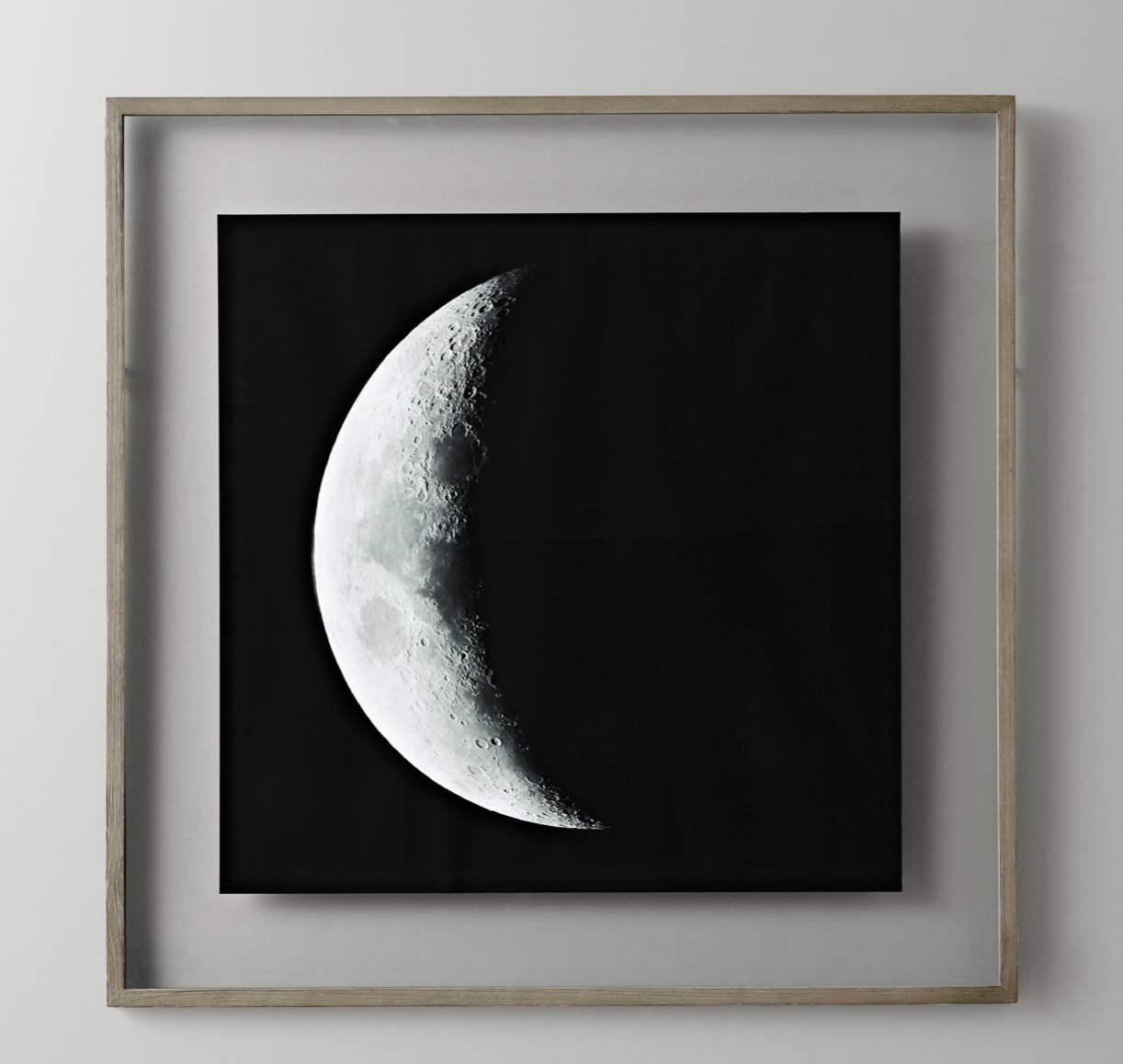 Moon phase wall art from RH Baby & Child