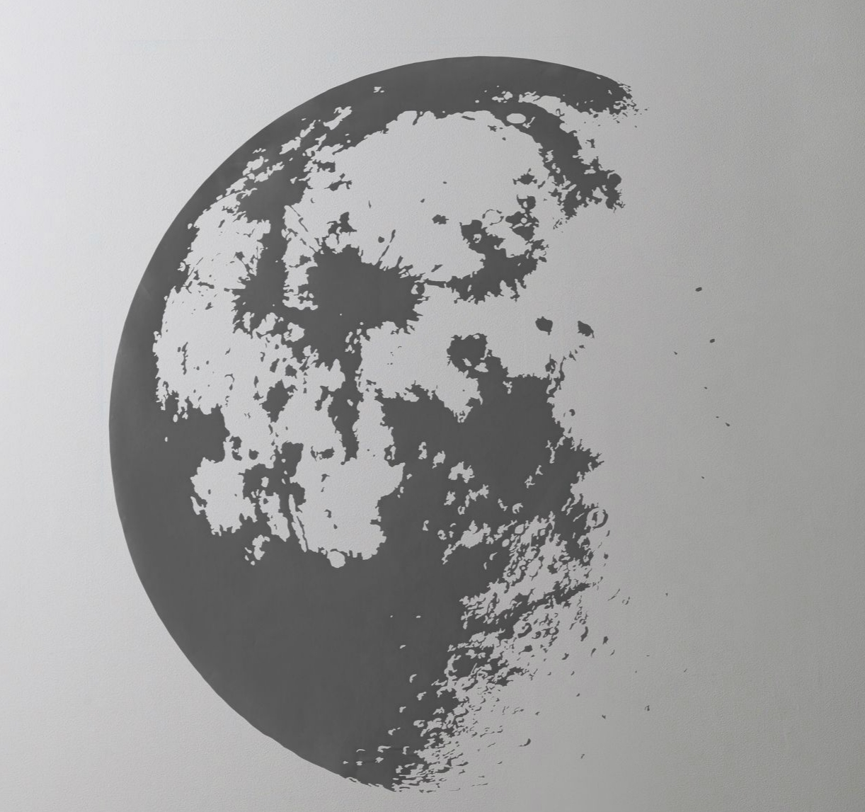 Moon wall decal from RH Baby & Child