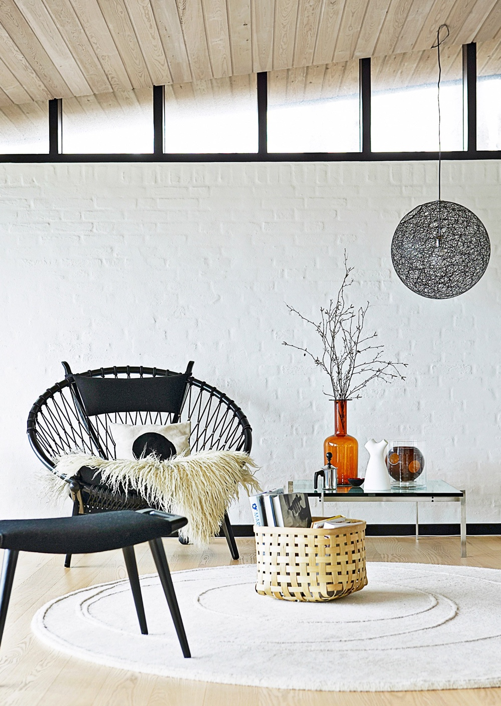 PP130 Circle Chair by Hans J. Wegner.