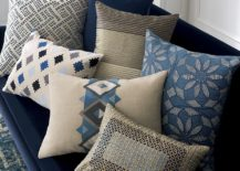 Patterned pillows from Crate & Barrel