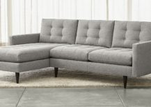Petrie Sectional Sofa from Crate & Barrel
