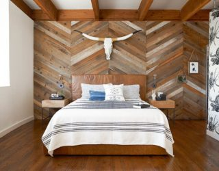 Design Inspiration: 25 Bedrooms With Reclaimed Wood Walls