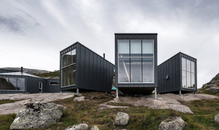 Mountain Lodge in Norway Offers Window to Paradise