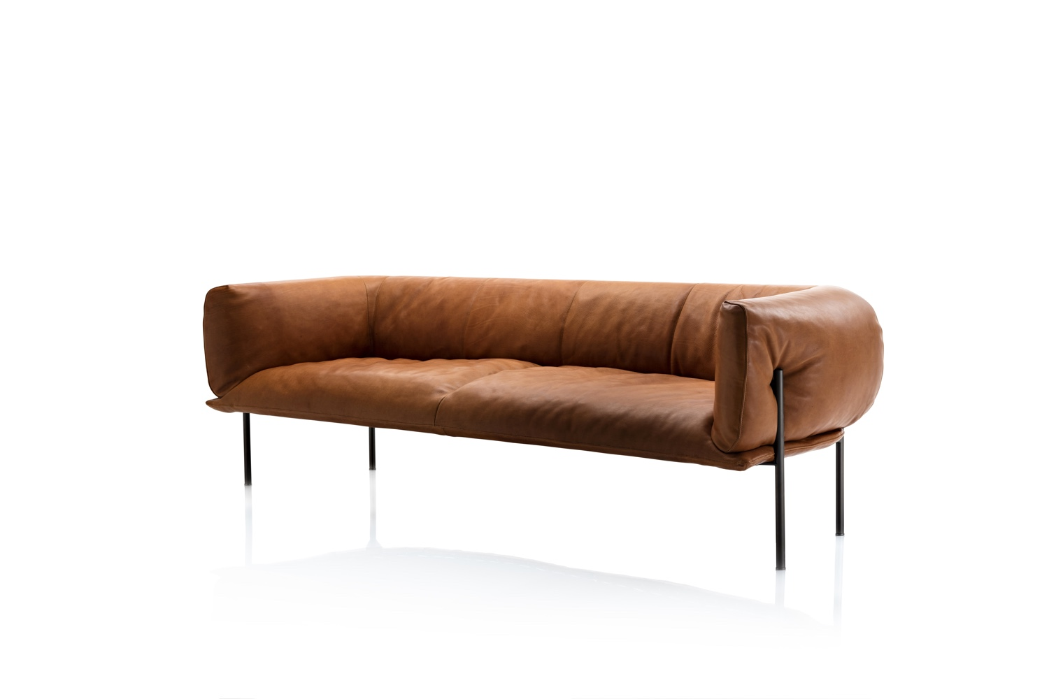 Rondo sofa by Lucy Kurrein and Molinari Design.