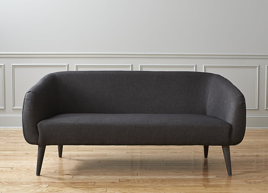 Rue Apartment Sofa with tapered legs