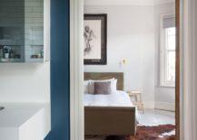 Serene contemporary bedroom deisgn in white