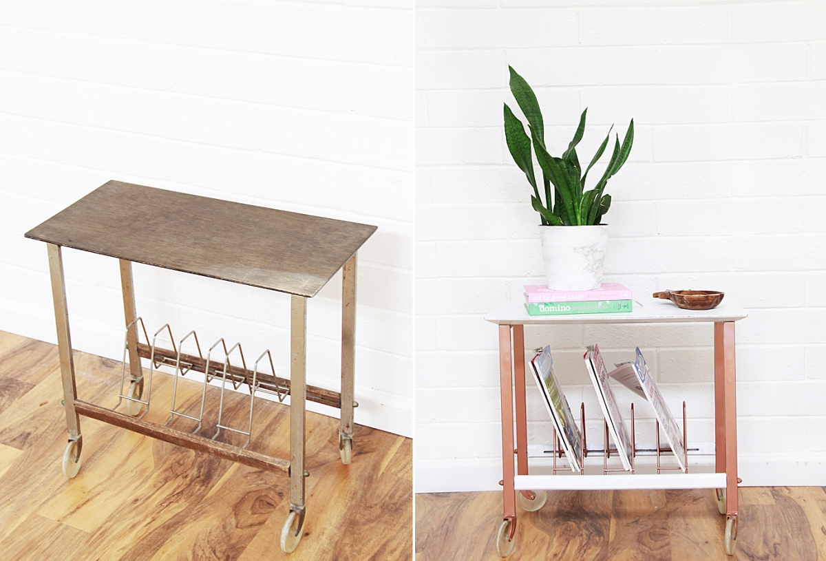 Shelf makeover from A Bubbly Life