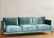 Slub Velvet Linde Sofa 217x155 Sofa vs. Couch: the Great Seating Debate