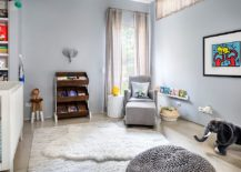 Smart nursery combines Scandinavian and industrial styles