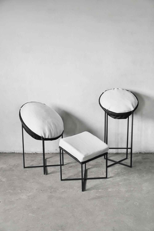 Snow seating collection by Anastasia Leonova.