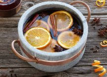 Soapstone and copper pot from Uncommon Goods 217x155 The Best New Serving Pieces for Fall