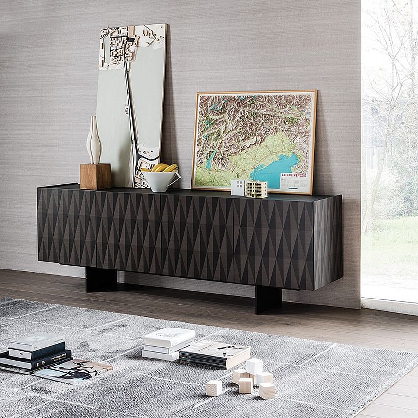Striking Arabesque sideboard adds geometric style to the interior