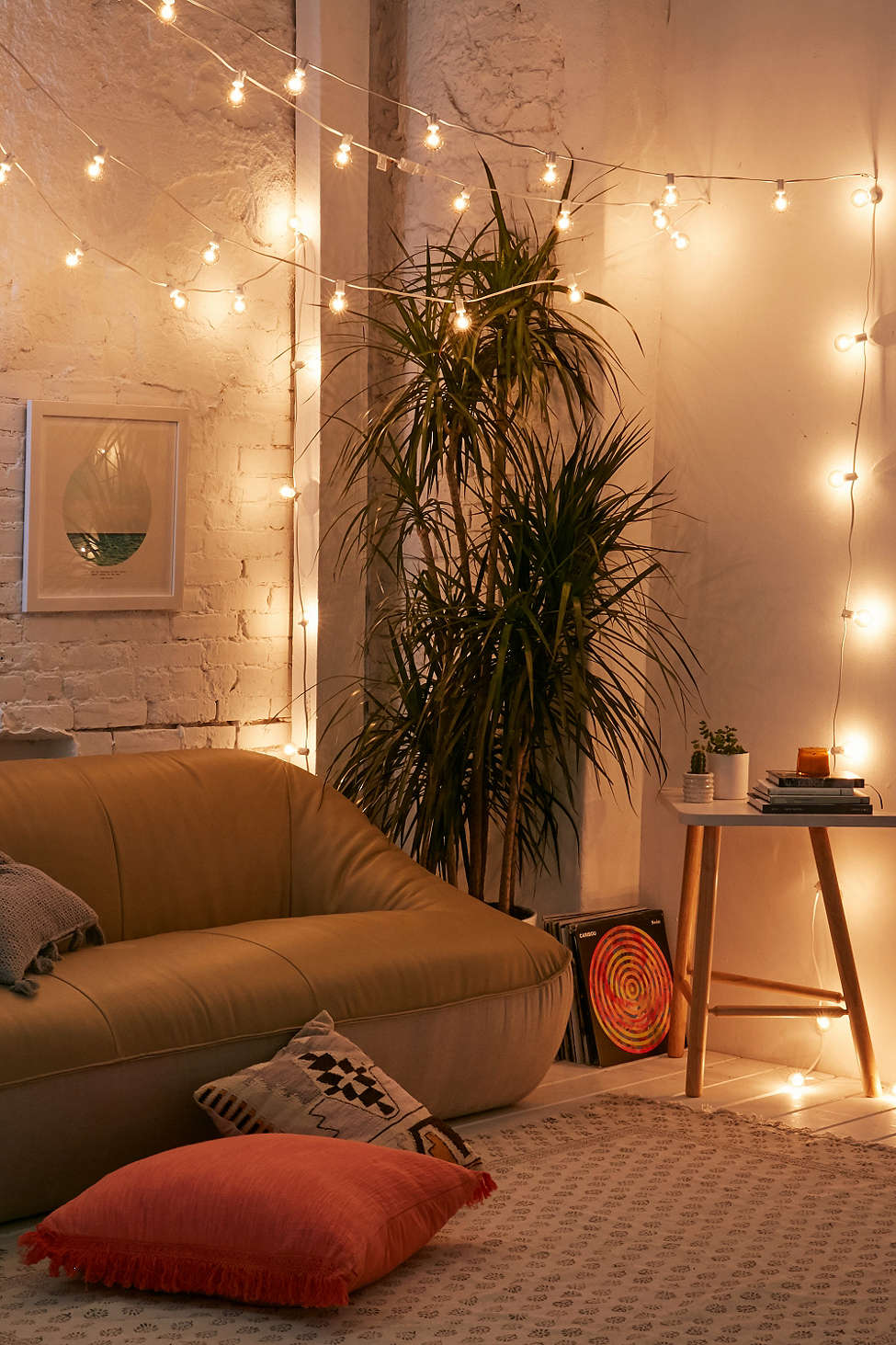 String lights from Urban Outfitters