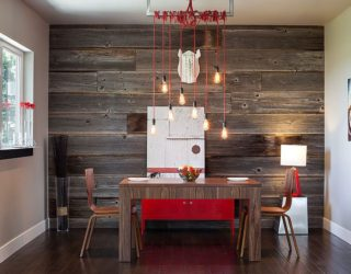 10 Exquisite Ways to Incorporate Reclaimed Wood into Your Dining Room