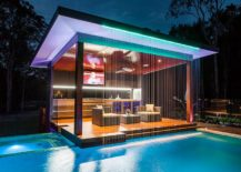 Stunning pool house will wow your guests every single time