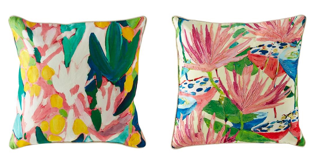 Throw pillows by Lulu DK for The Land of Nod