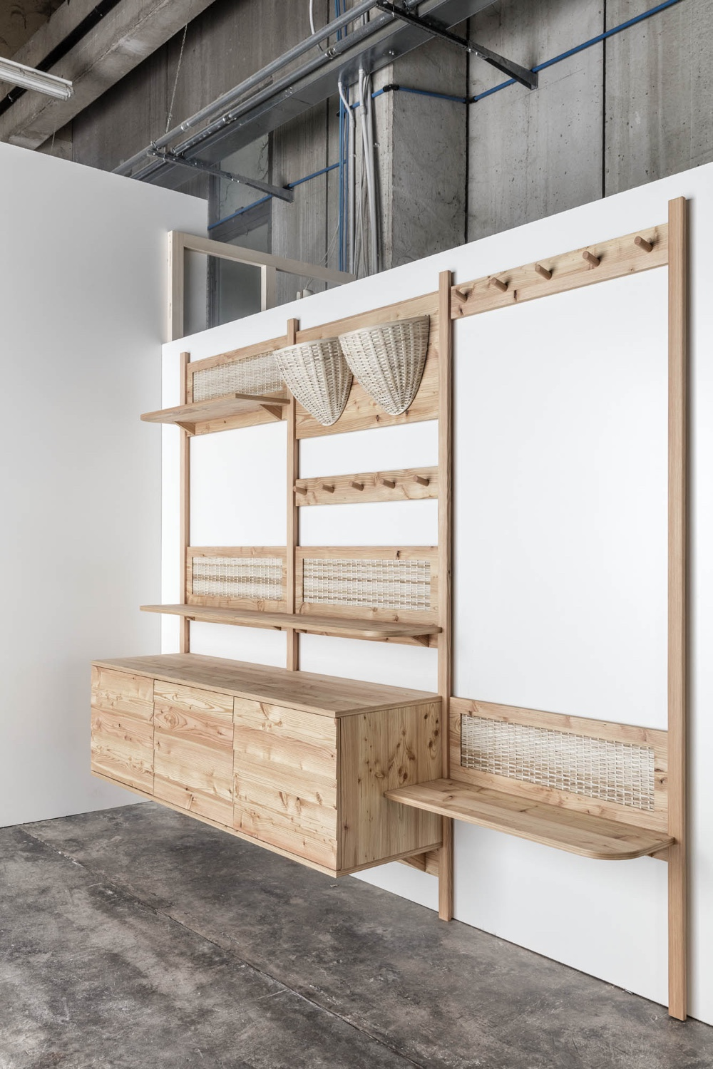 Trentino Storage by Sebastian Cox and L'Arte del Legno.
