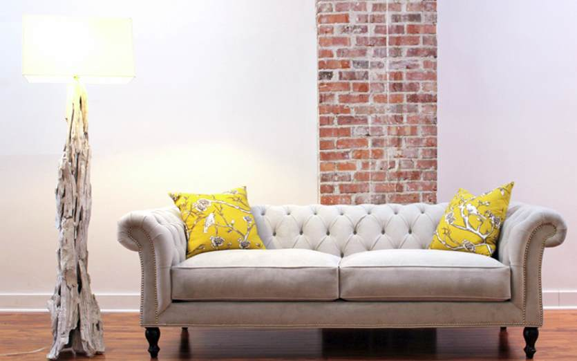 Tufted seating from COUCH