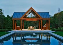 Unassuming pool house is all about enjoying the outdoors